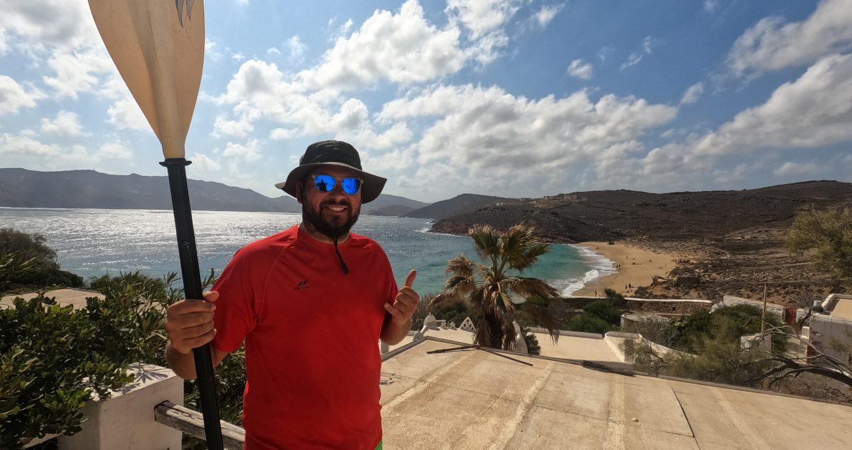 Νίκος Σιωπηρός-Mykonos Kayak: «Στόχος μας είναι να δείξουμε την άγρια ομορφιά της Μυκόνου»