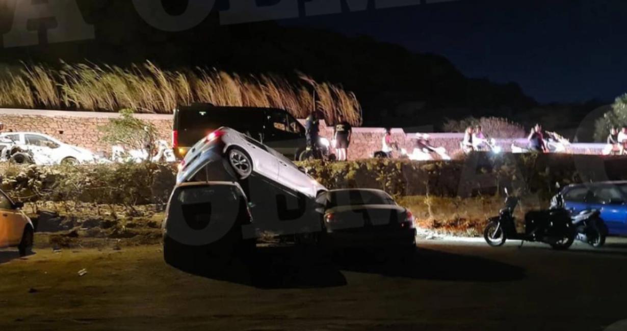 Ατύχημα προκάλεσε όχημα που ξέφυγε από την πορεία του στην Ψαρρού