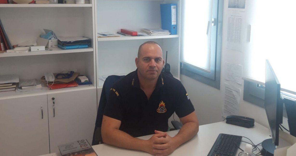 Μιχάλης Γαρίδης: Ο διοικητής του πυροσβεστικού σταθμού αερολιμένα Μυκόνου στο Mykonos Post: «Πρέπει να είμαστε ιδιαίτερα προσεκτικοί»