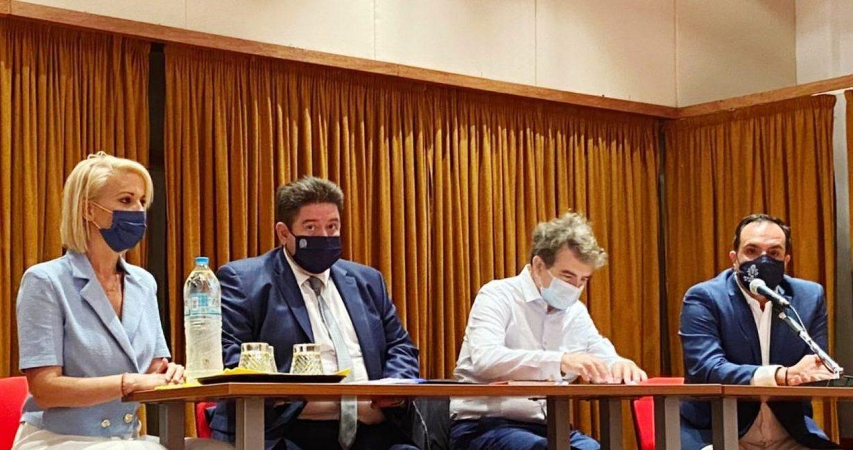 Η επίσκεψη του Υπ. Προστασίας του Πολίτη στη Μύκονο και οι πρώτες δηλώσεις του Δημάρχου