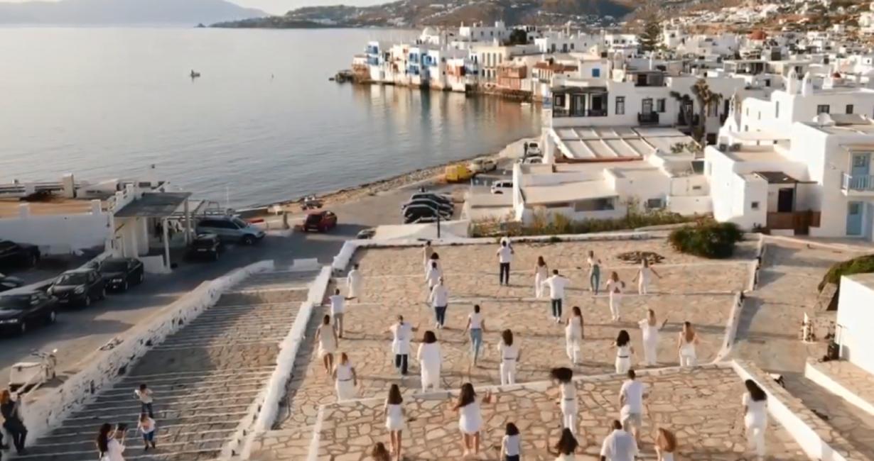 Η Μύκονος αποδέχτηκε το Jerusalema Dance Challenge