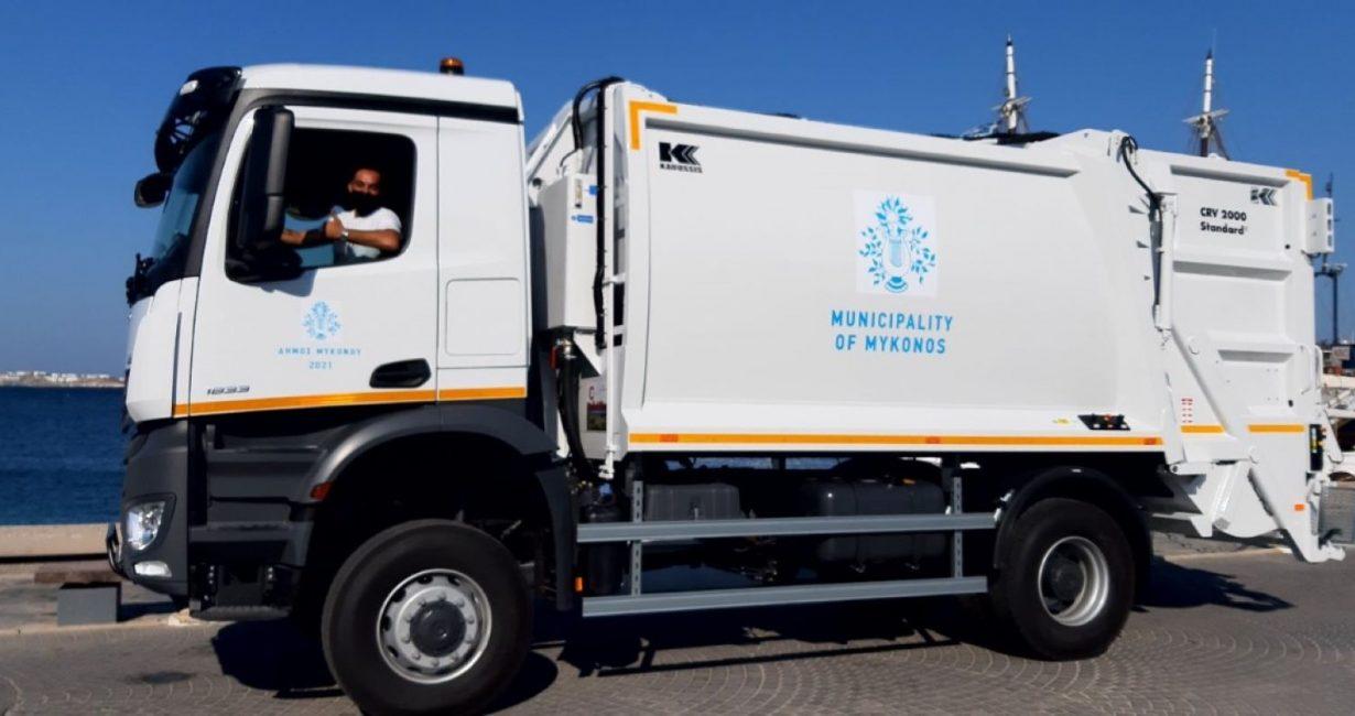 Προμήθεια απορριμματοφόρου για την αναβάθμιση των υπηρεσιών καθαριότητας του Δήμου