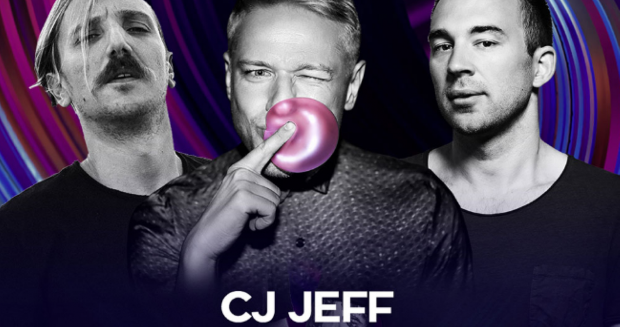 Cavo Paradiso: CJ Jeff, Junior Pappa και Ionas Feenstra την 1η Ιουλίου