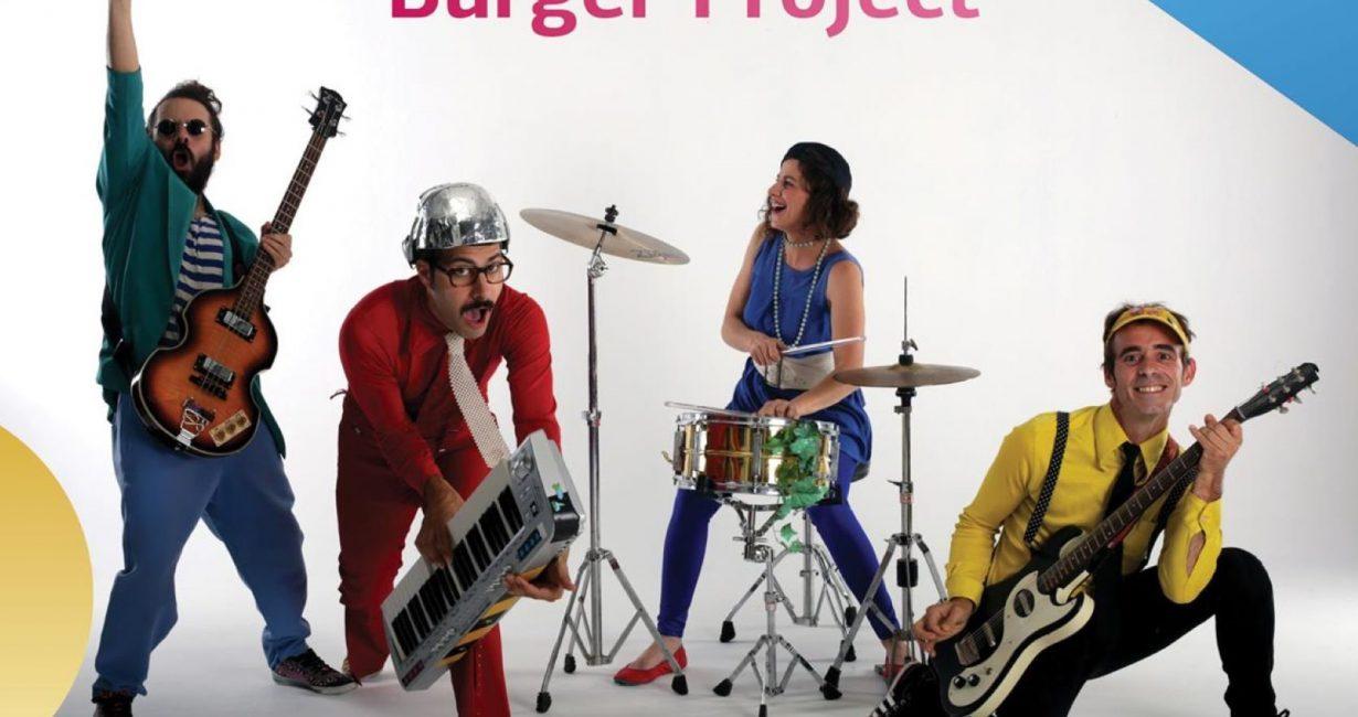 Οι Burger Project σήμερα στο θέατρο Λάκκας σε μία παιχνιδο-συναυλία για όλη την οικογένεια