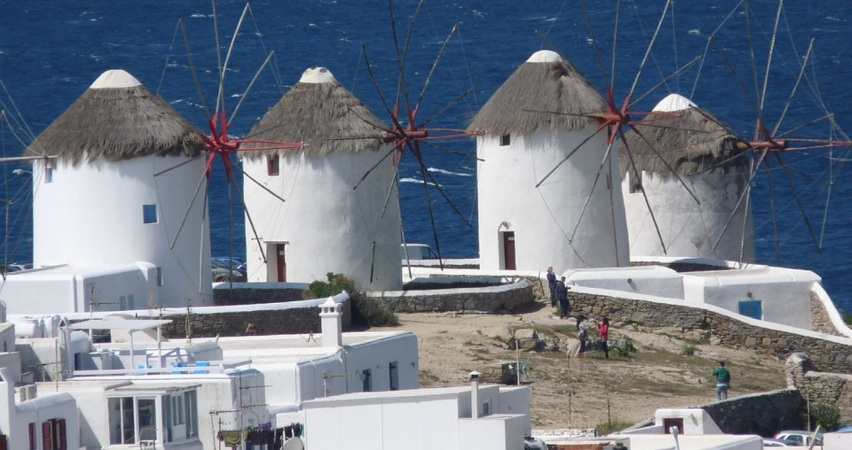 """""""Restoration of the area surrounding the Windmills"""": A study carried out by the Municipality of Mykonos"""